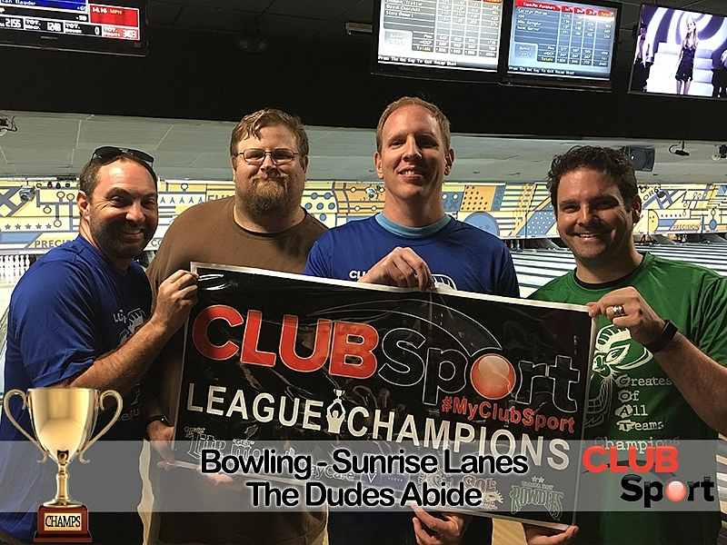 The Dudes Abide (L) - CHAMPS