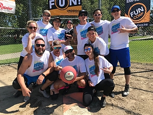 Now that's what I call kickball Vol. 1 Team Photo