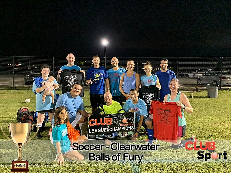 Balls of Fury - CHAMPS