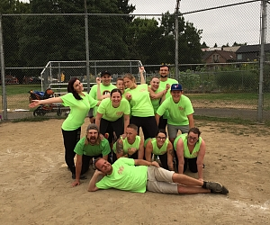 C&C Kickball Factory Team Photo