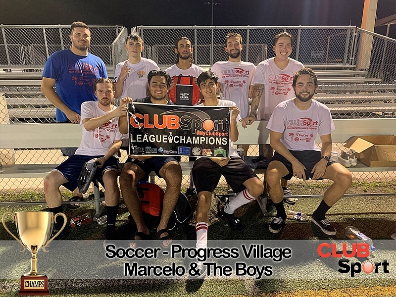 Marcelo and the boys - CHAMPS