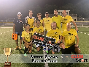 Bloomin' Goals - CHAMPS photo
