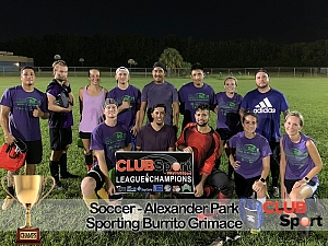 Sporting Grimace Burritos - CHAMPS photo