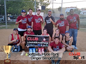 Dinger Slingers - CHAMPS photo