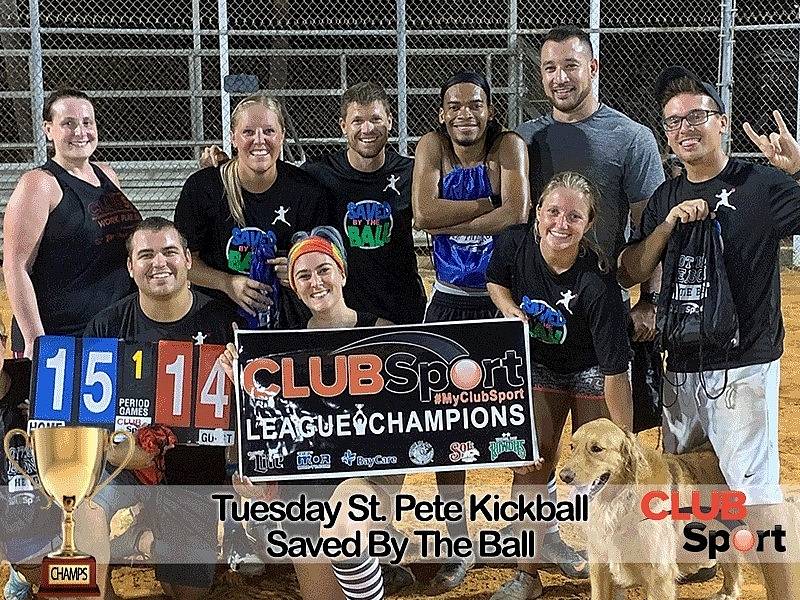 Saved By The Ball - CHAMPS