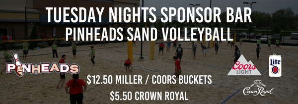 Tuesday Fall Pinheads Sand Volleyball