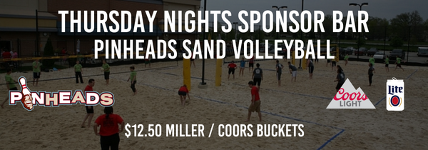 Thursday Fall Pinheads Sand Volleyball