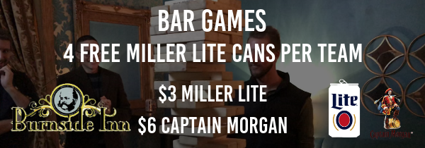 Wednesday Winter Bar Games