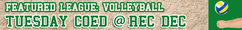 Featured league - Volleyball