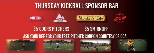 Thursday Kickball Summer 19