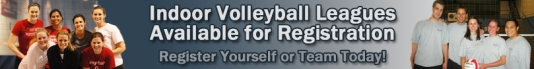 Indoor Volleyball Leagues - Any Season