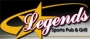 Legends Sports Pub & Grill Logo