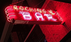 The Rocking R Bar Logo