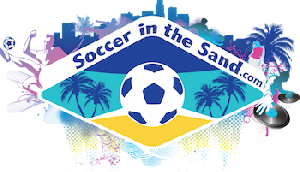 Soccer in the Sand Logo