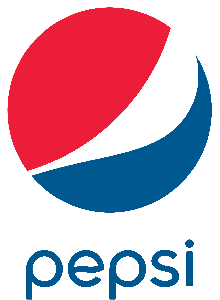 Fall Flag Football Powered by Pepsi Logo