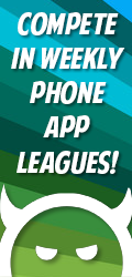 Play Weekly Phone App Leagues!