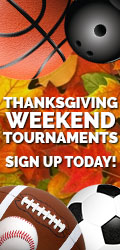 Play Football or Softball Thanksgiving Tournaments
