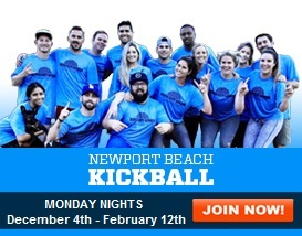 Join our Monday Night Kickball League!