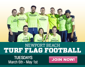 Join our Tuesday Turf Football League!