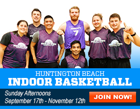 Join our Huntington Indoor Basketball League!