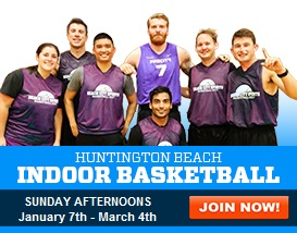Join our Sunday Indoor Basketball League!