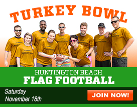 Annual Charity Flag Football Turkey Bowl