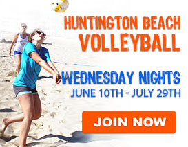 Wednesday Beach Volleyball in Huntington