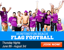 Join our Long Beach Flag Football League!