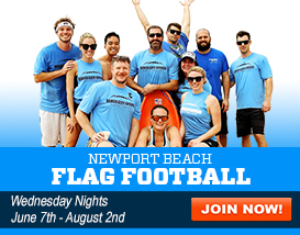Join our Newport Beach Flag Football League!
