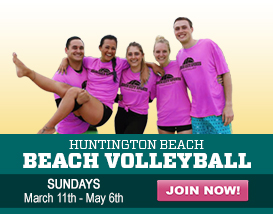 Join our Sunday Huntington Beach Volleyball League!
