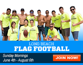 Join our Newport Beach Turf Flag Football League!