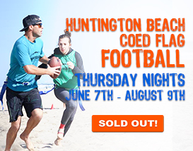 Join our Thursday Huntington Beach Football League!