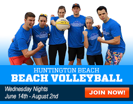 Join our Huntington Beach Volleyball League!