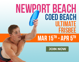 Join our Sunday Ultimate Mini Season in Newport Beach!
