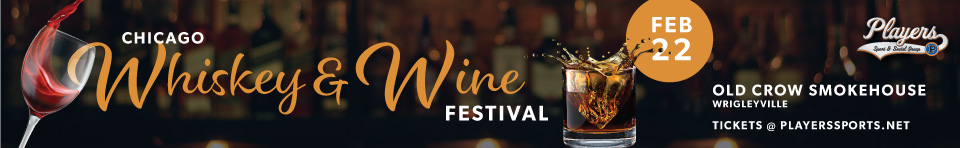 Chicago Whiskey & Wine Festival at Old Crow Smokehouse in Wrigleyville