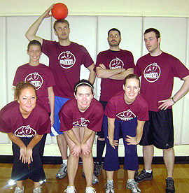 Dodgeball Team Page For Dodgey Style Underdog Sports