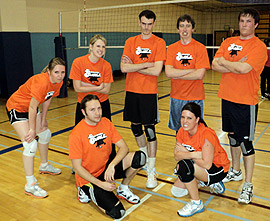 A Blockwork Orange Team Photo