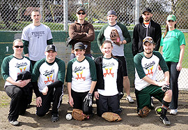 Fowl Balls Team Photo