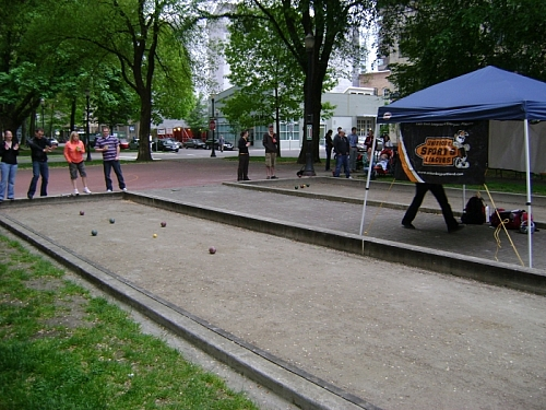 Bocce Downtown.