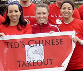 Ted's Chinese Takeout Team Photo