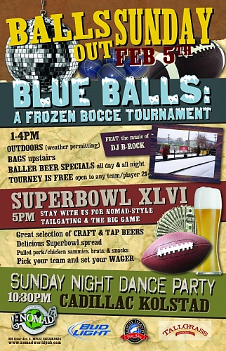 Blue Balls: A Frozen Bocce Tournament
