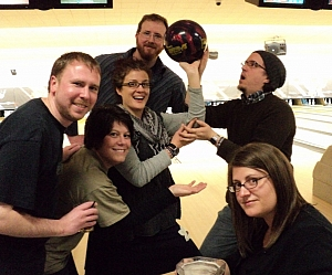 The Bowling Stones Team Photo