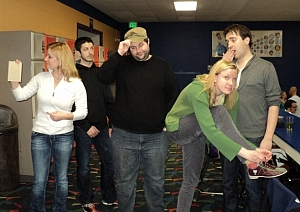 Bowler? I don't even know 'Ler! Team Photo