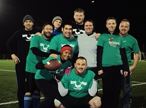 Man Punts Team Photo