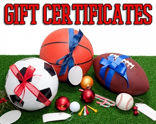 Club Sport Gift Certificates