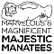 The Majestic Manatees Team Logo