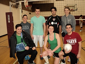 Men with hard digs, Women with soft hits Team Photo