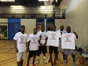 Team C.U.D. Wins Men's Winter Basketball Title in Old Town