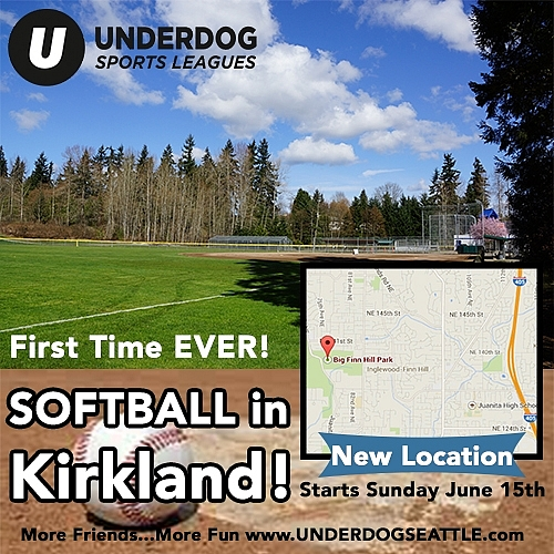 Summer Softball Sign Ups Are Open!