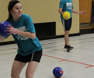 Winter Dodgeball